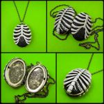 Ribcage Locket by beatblack