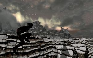 Shadow over Windhelm by NorroenDyrd