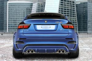 Blue Angel BMW X6 M -5- by adisson-photography
