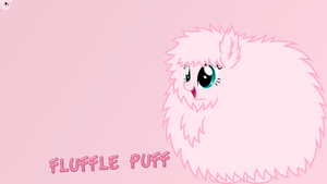 Fluffle Puff wallpaper by SkiddleZIzKewl