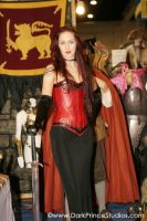 Celtic-Scroll Corset by FoxGloveFashions