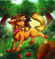Applejack by SerenityScratch