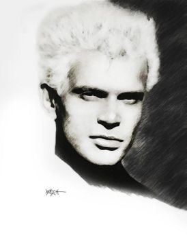BILLY IDOL by woodywelch