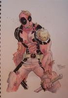 Deadpool by ChrisMoreno
