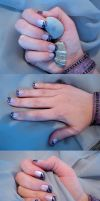 Magnetic nails by AmbisMortem