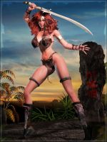 -Red Sonja- by ken1171