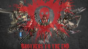 Gears of War: BROTHERLY BLOOD by Dream-Piper