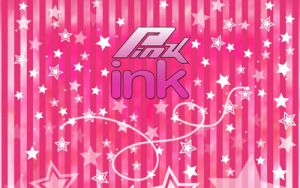 made in corel in pink ink by mclaranium