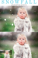 Fake but GENUINE looking SNOW PS Actions by Lady-Tori