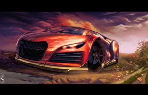 AUDI R9 by SaphireDesign