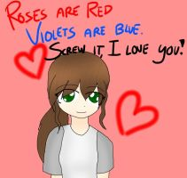 Roses are Red by J-M-X-P