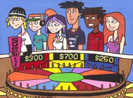 6teen Sweetheart Week on Wheel by DJgames