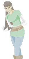 Indo Girl - Colour Test by ricepuppet