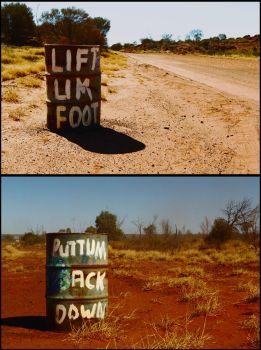 Pidgin speed signs by wildplaces