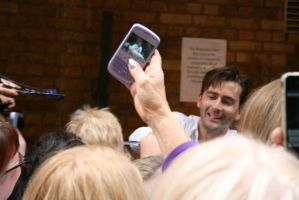 MAAN Stage Door, David Tennant by KachiWho