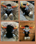 Tavros plushie by nightmarekitty