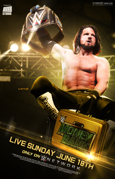 WWE Money in the Bank 2017 Poster by MARKStudio2017