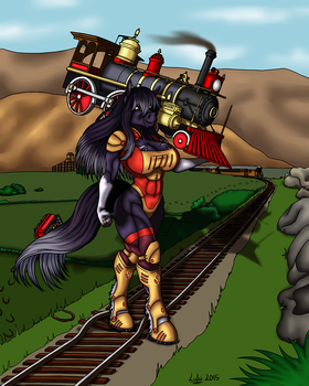 Commission - The Great Train Robbery by pixiekirin