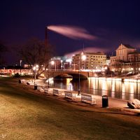 tampere at night by Lunox-baik
