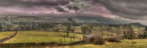 Smoke Stack HDR Panorama by Sensei-Samurai