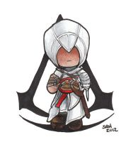 Altair Chibi - Assassin's Creed by sakkysa