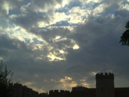 Clouds in the castle by VMSS19