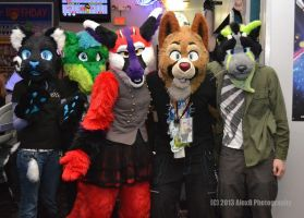 Furbraska Bowling Group Pic by PawthenticCreations