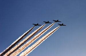 Formation Silhouette by BillH-Photo