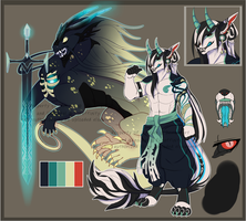 Cursed Sword Chieftain Imukai Adopt sold ab1 by Ginsuke
