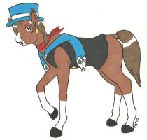 Trucy Wright horse TF by cqmorrell