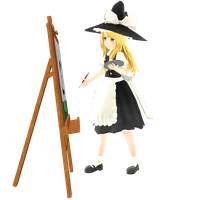 Painting by Neverlia