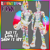 Rainstripe - IMVU Furset by lonelycard