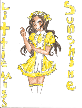 Little Miss Sunshine by THEvirtualreeper
