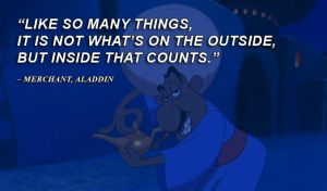 Disney Quotes Aladdin Merch by qazinahin