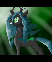 .:Queen Chrysalis:. by The-Butcher-X