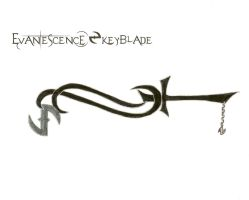 Evanescence keyblade by shadowrunihura