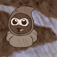 Chocolate Rain Castform by darlimondoll