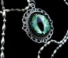 Lavender Mist - Green shadows eye - Silver Dream by LadyPirotessa