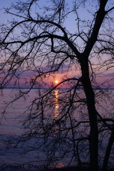 James River Sunset 2 by poetcrystaldawn