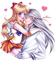 Sailor Venus LOVE by Alex-Asakura
