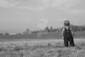Boy in the Meadow by jdesau