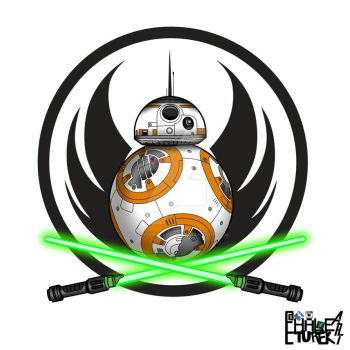 BB8 JEDI  by AllHaleTurekArt
