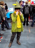 Snufkin from The Moomins by ZeroKing2015