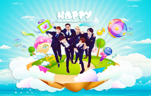 Happy 1st year with B2ST-VN by MiHVVN