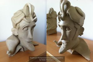 Guybrush Threepwood - Busts by RobinThormann