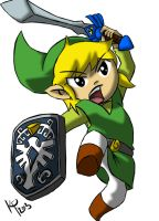 Toon Link by bloody--mascarade