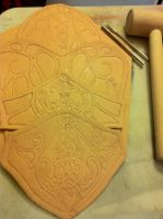 Ezio Revelations Bracer WIP by Forcebewitya