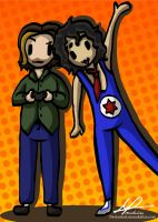 Micro's: And They're The Game Grumps! by monakaliza