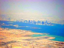 Doha In The Making 2 by Noora7at