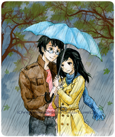 Commission :Harry Potter and Selena: by Moonlilith91